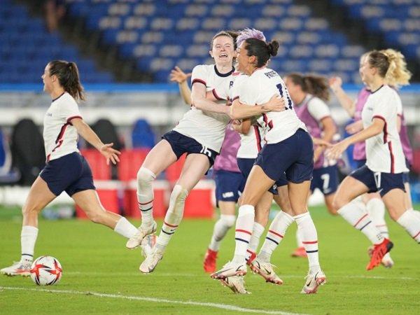 Rekap Sepak Bola Putri Olimpiade Tokyo 2020: Beda Nasib AS ...