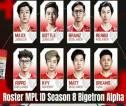 Resmi! Bigetron Alpha Umumkan Roster untuk Bersaing di MPL ID Season 8
