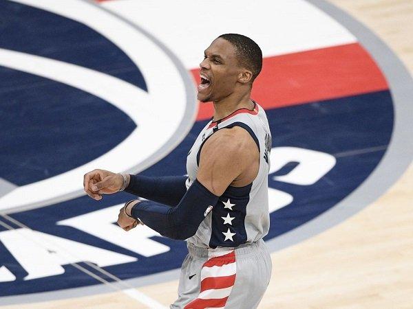 Russell Westbrook tak lupa berterima kasih pada tim Washington Wizards.