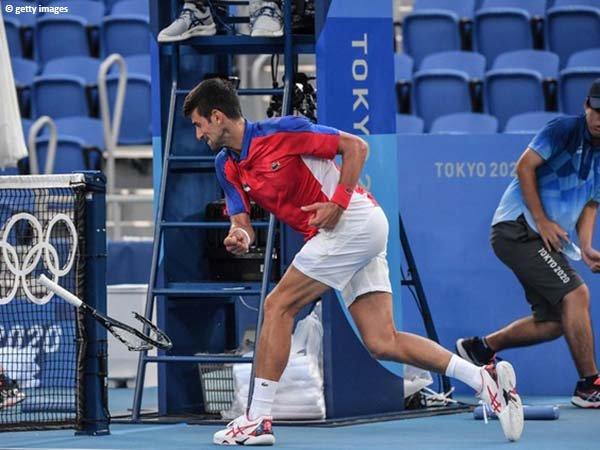 Noval Djokovic gagal bawa pulang medali Olimpiade Tokyo