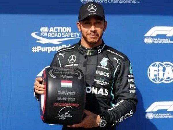 Hasil gemilang dicatat Lewis Hamilton di GP Hungaria