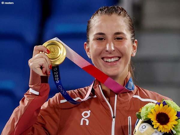 Belinda Bencic rebut medali emas Olimpiade Tokyo