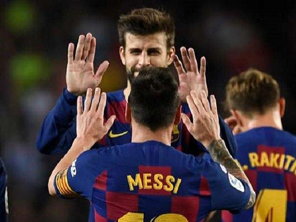 Bek Barcelona, Gerard Pique. (Images: Getty)