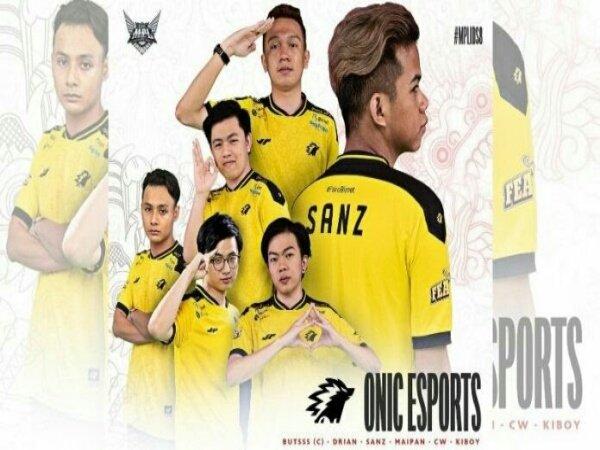 Roster MPL ID Season 8 ONIC Esports: Masih Andalkan Para Pemain Lama