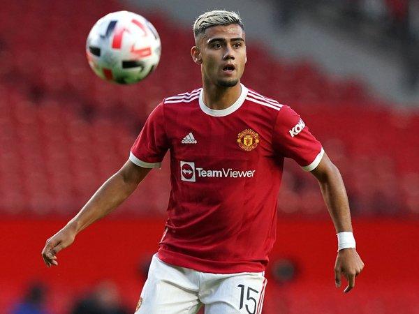 Gelandang Manchester United, Andreas Pereira.