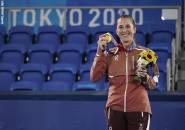 Belinda Bencic Ungkap Pesan Roger Federer Sebelum Lakoni Final Olimpiade