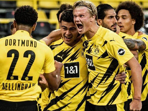 Menurut Erling Haaland, Borussia Dortmund bisa lebih baik tanpa Jadon Sancho
