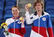 Hasil Olimpiade: Anastasia Pavlyuchenkova Dan Andrey Rublev Jadi Juara