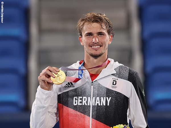 Alexander Zverev persembahkan medali emas Olimpiade Tokyo bagi Jerman