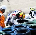 Mick Schumacher Kesal Tak Bisa Catatkan Waktu di Kualifikasi