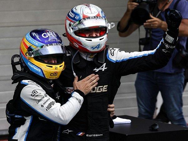 Esteban Ocon, Fernando Alonso