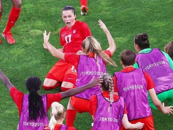 Kanada dipertemukan dengan Swedia di final sepak bola putri Olimpiade Tokyo.