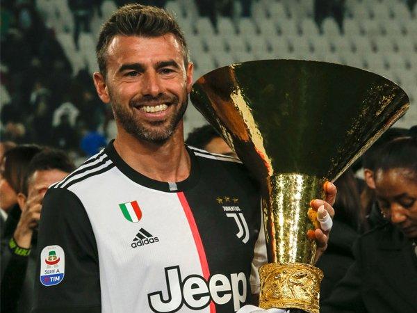 Eks bek Juventus, Andrea Barzagli.