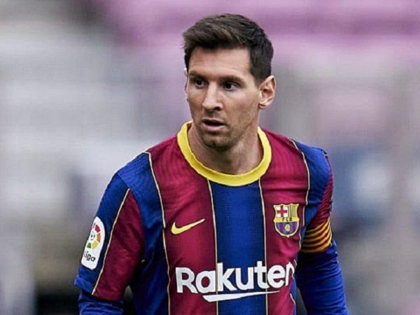Presiden Barcelona, Joan Laporta berusaha keras pertahankan Lionel Messi.