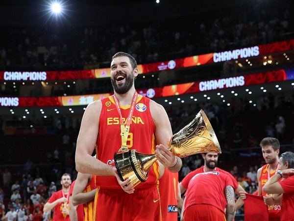 Marc Gasol resmi gantung sepatu dari timnas basket Spanyol.