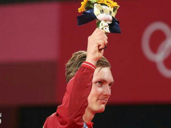 Medali Emas Olimpiade Jadi Pencapaian Terbesar Viktor Axelsen