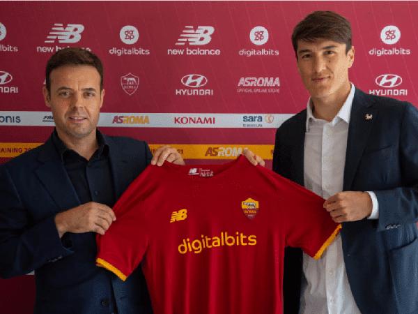 AS Roma resmi rekrut Eldor Shomurodov dariGenoa