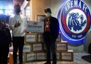 Bantuan Arema FC Untuk Masyarakat Terdampak Covid-19