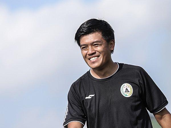 Pemain PSS Sleman, Jepri Kurniawan bersiap sambut Liga 1