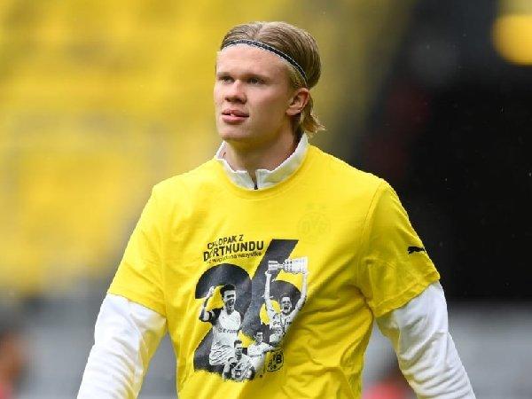 Borussia Dortmund takkan jual Erling Haaland pada musim panas ini