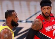 Lakers Wujudkan Impian Carmelo Anthony Bermain dengan James
