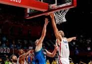 Hasil Basket Olimpiade: Batum Pupus Impian Doncic ke Final