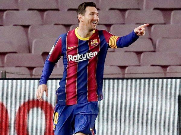 Eks kapten Barcelona, Lionel Messi.
