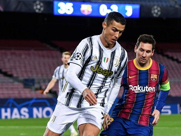 Lionel Messi penuhi tantangan Cristiano Ronaldo untuk tinggalkan zona nyaman.