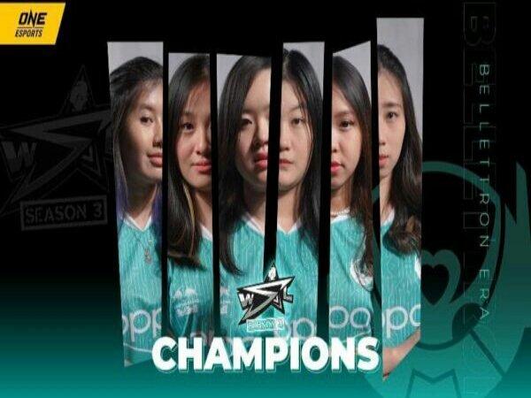 Grand Final WSL Season 3: Belletron Era Juara usai Lumat RRQ Mika 4-1
