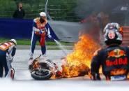 MotoGP Styria Sempat Dihentikan Sejenak Usai Insiden Pedrosa-Savadori