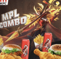 Rayakan MPL KH Season 1, KFC Luncurkan Menu Eksklusif