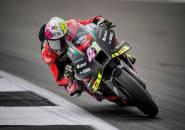 Hasil Warm-Up MotoGP Inggris: Aleix Espargaro Tunjukkan Aksi Terbaik