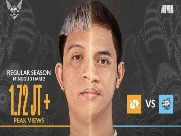Rekor Penonton El Clasico MPL Indonesia Pecah di MPL ID Season 8