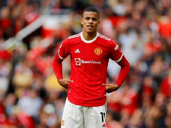 striiker Manchester United, Mason Greenwood, diklaim bisa jadi salah satu pemain terbaik dunia