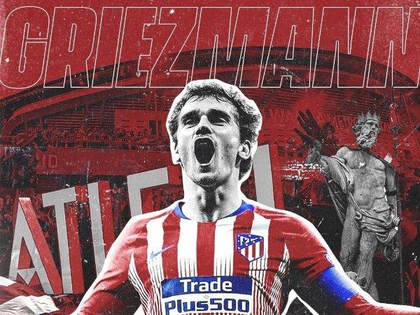 Atletico Madrid pulangkan Griezmann