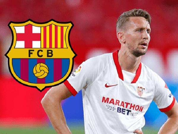 Luuk De Jong resmi bergabung dengan Barcelona.