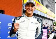 Dapat Podium dengan Cara Aneh di GP Belgia, George Russell Tetap Gembira