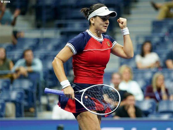 Bianca Andreescu jatuh bangun di rintangan pertama US Open 2021