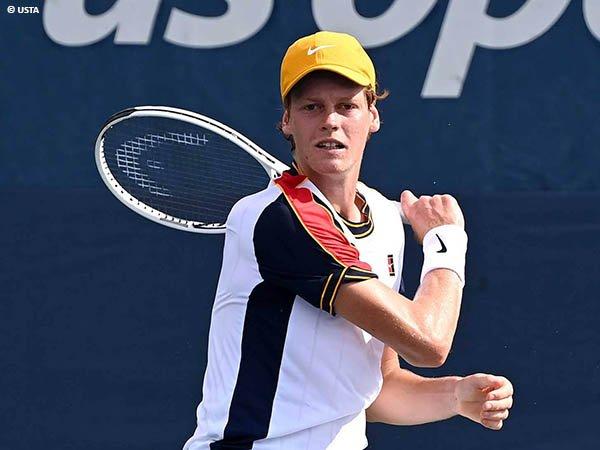 Jannik Sinner melangkah ke babak kedua US Open untuk kali pertama