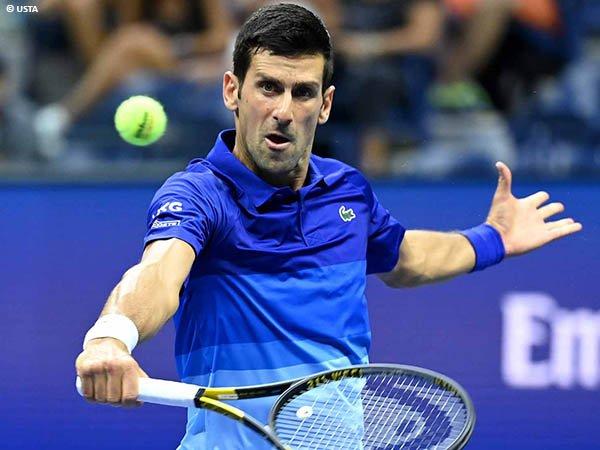 Novak Djokovic tak biarkan Holger Vitus Nodskov Rune di US Open 2021