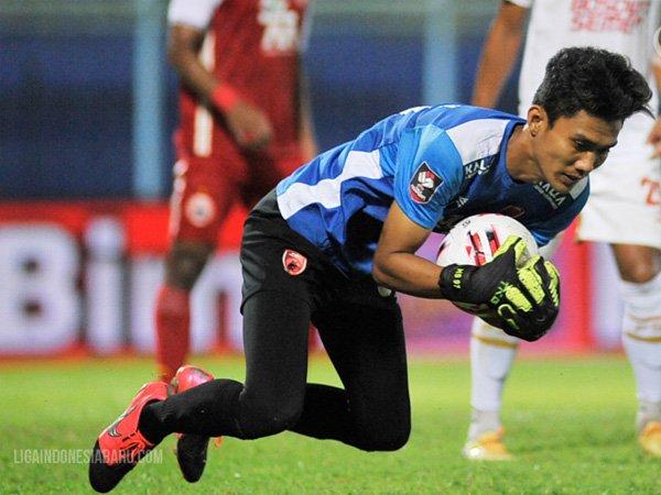 Hilman Syah saat memperkuat PSM Makassar pada turnamen pramusim Piala Menpora 2021
