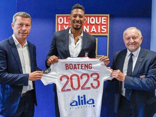 Jerome Boateng temukan klub baru setelah tinggalkan Bayern Munich.
