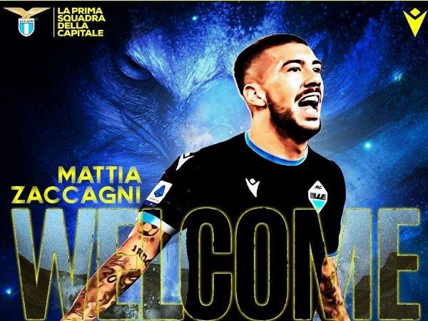 Lazio resmi rekrut Zaccagni