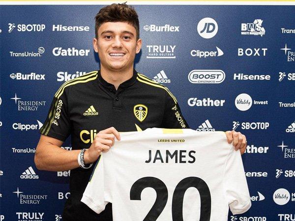 Winger Leeds United, Daniel James.