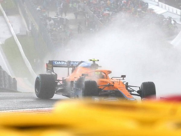 GP Belgia, Lando Norris