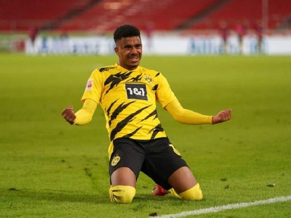 Meski dilirik klub lain, Ansgar Knauff putuskan bertahan di Borussia Dortmund