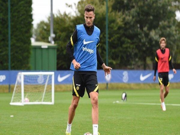 Saul Niguez mulai berlatih bersama Chelsea setelah pindah dari Atletico Madrid dengan status pinjaman tanggal 31 Agustus kemarin / via Getty Images