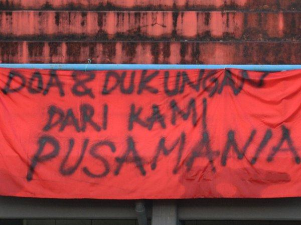 Dukungan dari Pusamania untuk Borneo FC