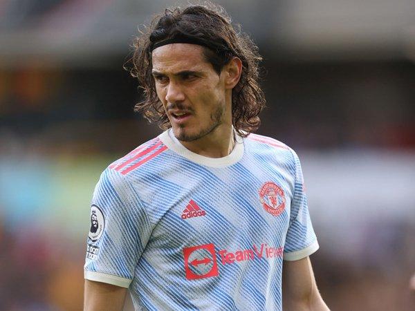 Striker Manchester United, Edinson Cavani.