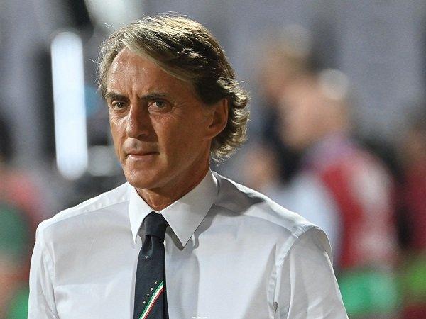 Roberto Mancini sayangkan kemandulan Italia kontra Bulgaria.